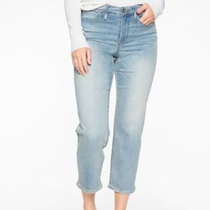 Athleta Sculptek 8 Slim Straight Agate Wash Jeans